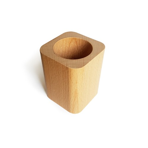 Montessori Wooden Pencil Holder