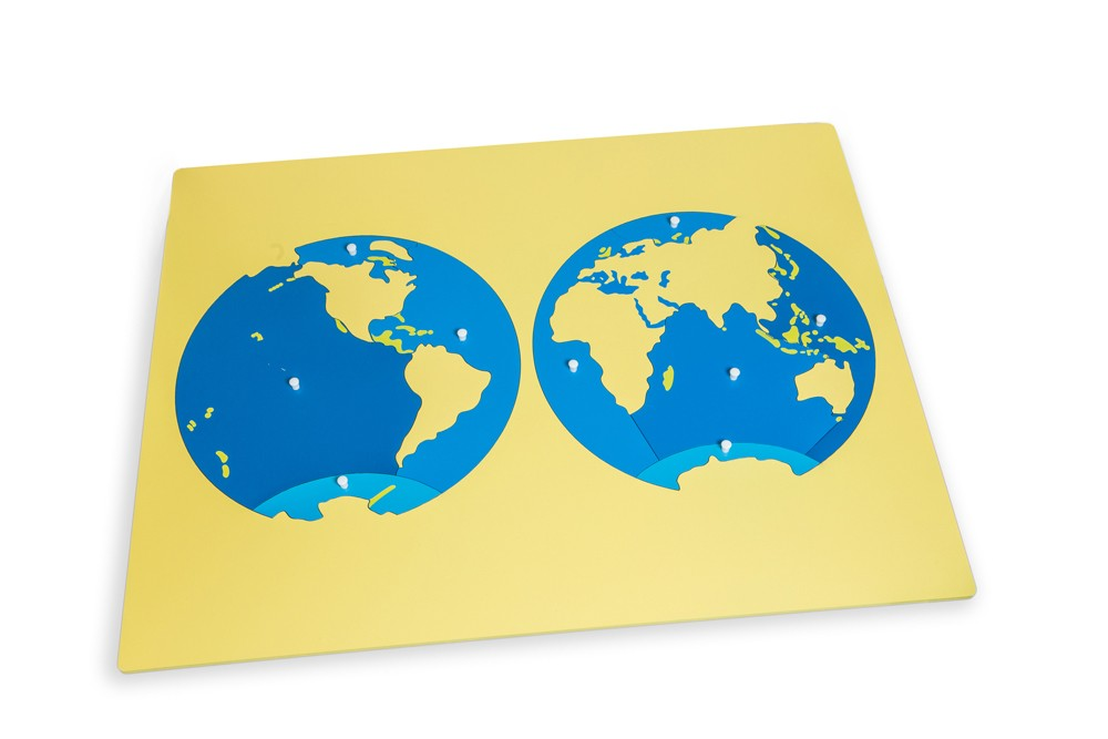 Montessori world flags map metal flag poles montessori puzzle map of the oceans gumiabroncs Gallery