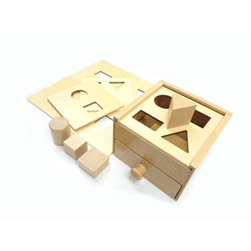 Montessori Multiple Lid Sorting Box