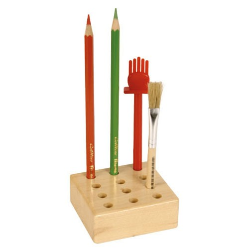 Stand for pencils and brushes