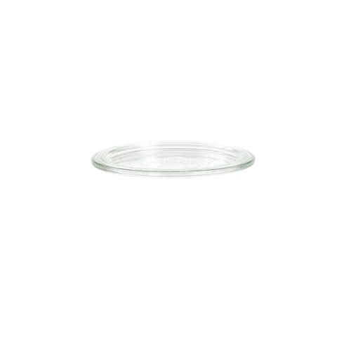 1 x Weck 100mm Replacement Glass Lid . Fits WECK Models 738 739 740 741 742 743 744 745 748.