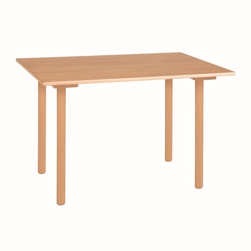 Nienhuis Montessori Table C3: Yellow (70 x 50 x 59 cm)