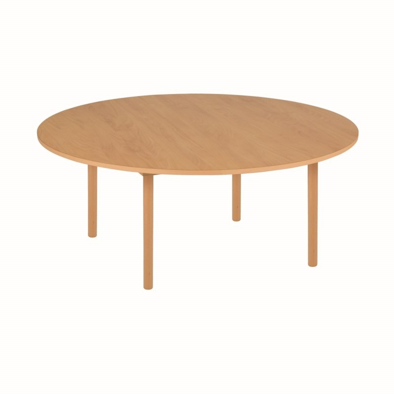 Nienhuis Group Table A1: Orange - Round (115 x 46 cm) (NL)