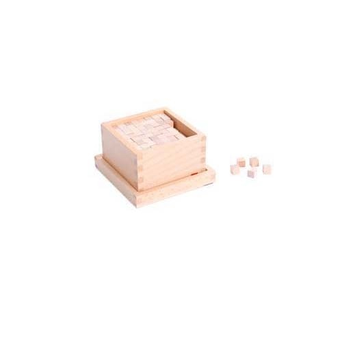 Box with Cubes for Pink Tower (NL)