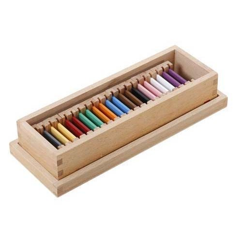Montessori Second Box Of Colour Tablets