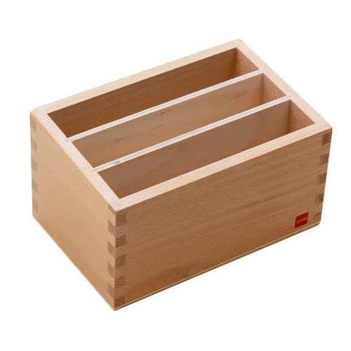 Box for Montessori Geometric Form Cards