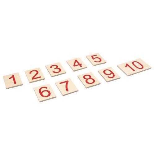 Printed Numerals 1-10 (NL)