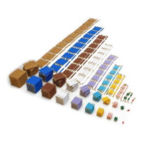 Complete Bead Material: Cubes, Squares and Chains (NL)