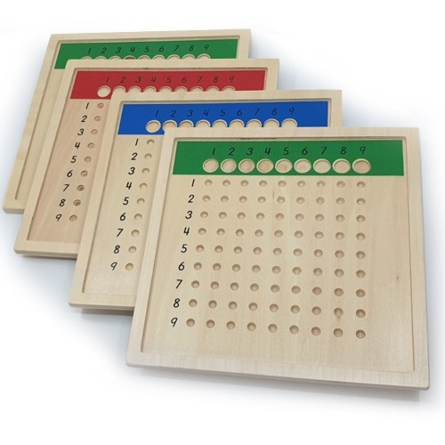 4 boards for Long Division