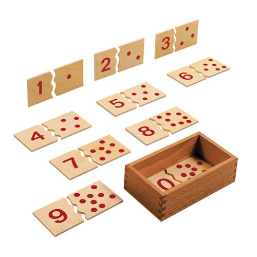 Number puzzle 1-10 (NL)