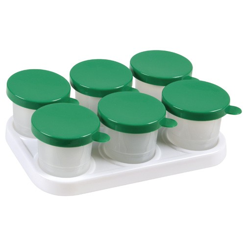 Tray with 6 x 320 ml pots (NL)