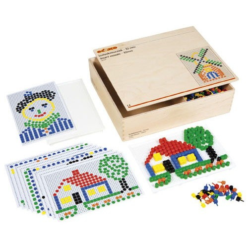 Insert mosaic 10 mm Peg board set (NL)