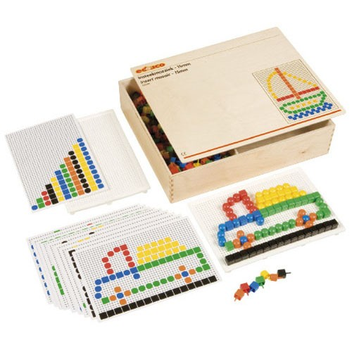 Insert mosaic 15 mm Peg board set (NL)