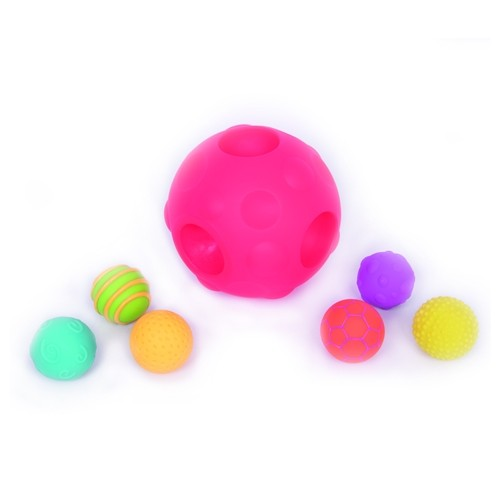 Sensory textured ball set