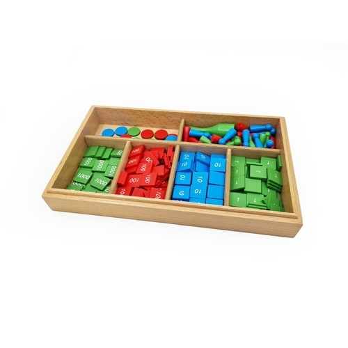 Montessori Stamp Game