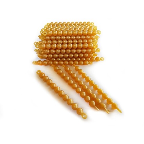 Golden Bead Material (Connected Beads)