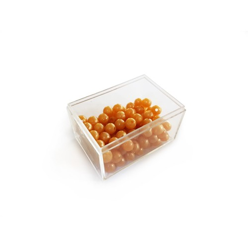 Units Beads (100) in a plastic box (to match connected beads)