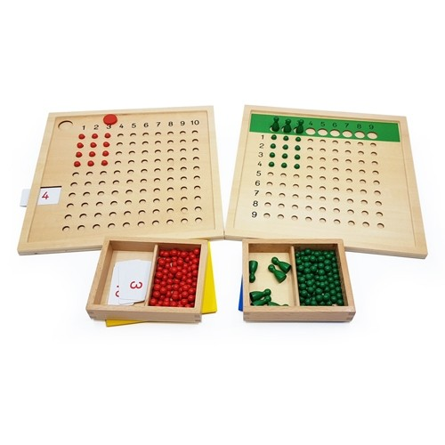 Multiplication and Division Boards (International Version)