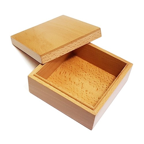 Montessori 10cm Wooden Box with Lid