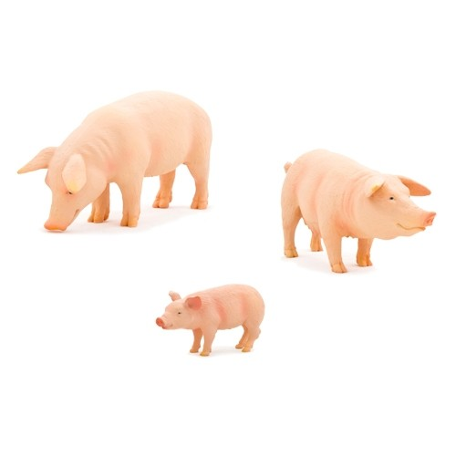 Montessori Pig Family Pack