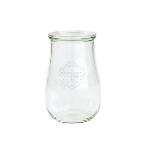 SET OF FOUR 1.75L Very Large Weck Jars. Model 738