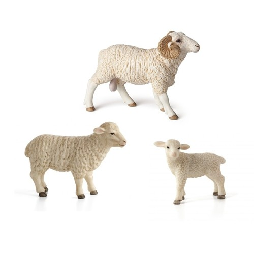 Montessori Sheep Family Pack