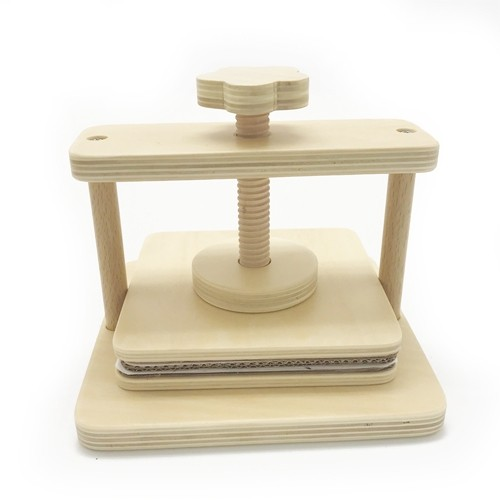 Montessori Simple Flower Press