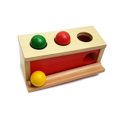 Montessori Object Permanence Ball Push