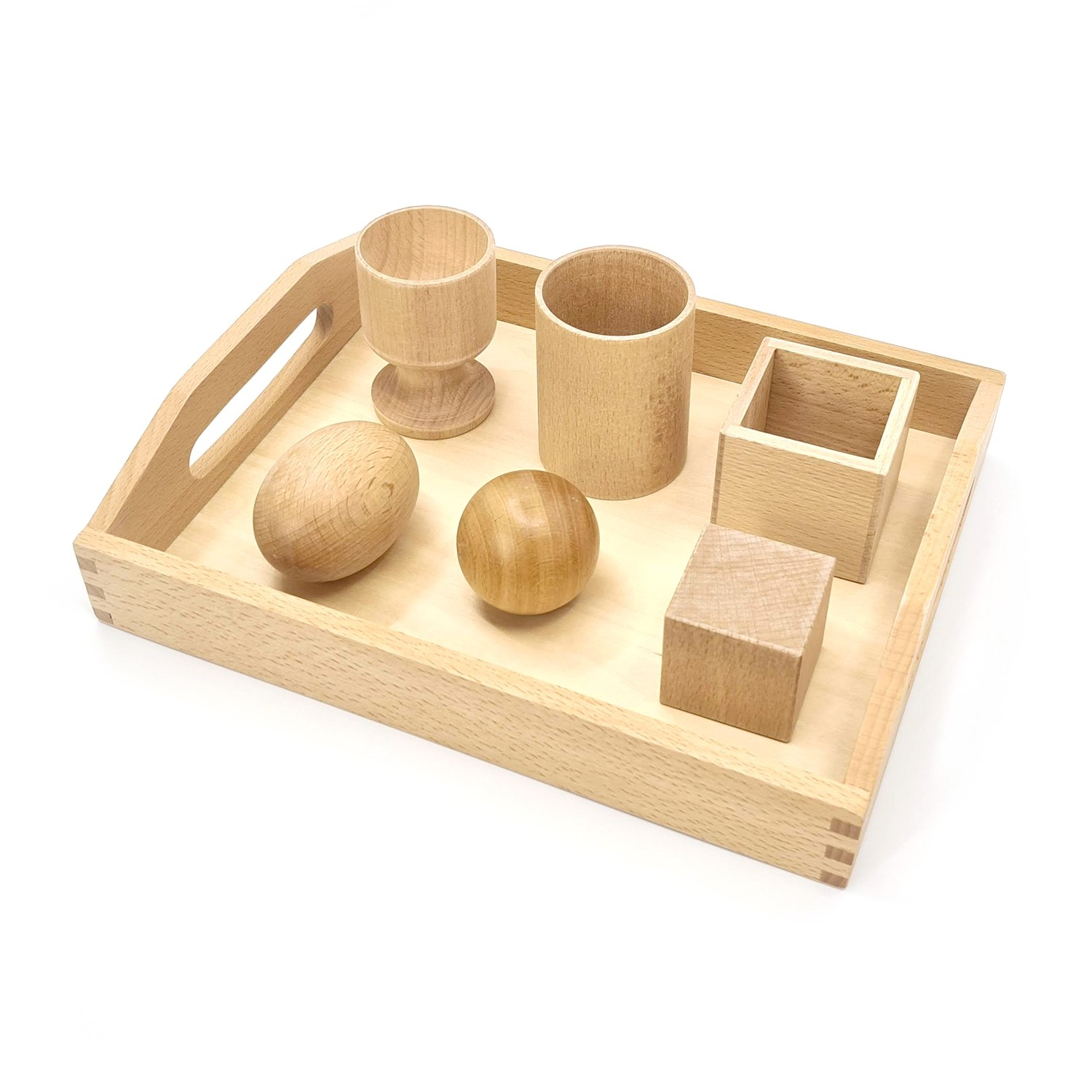 Montessori 3D Object Fitting Exercise