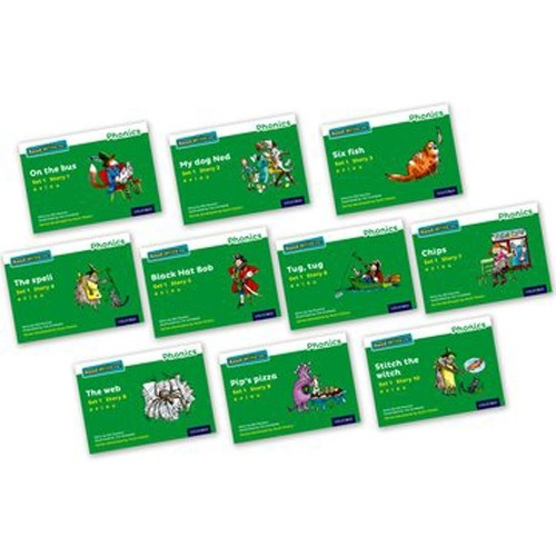Pack Of 10 Stage 1 Storybooks