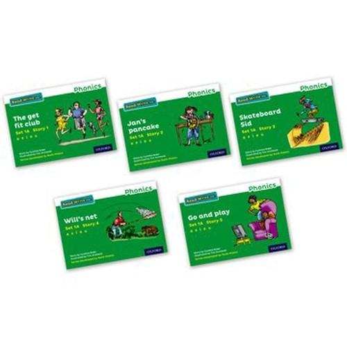 Pack Of 5 Stage 1A Storybooks