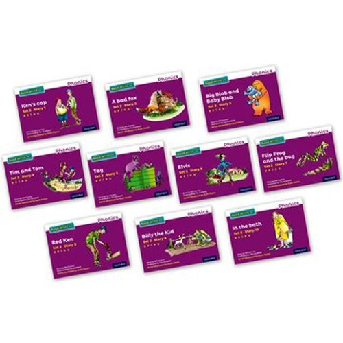 Pack Of 10 Stage 2 Storybooks