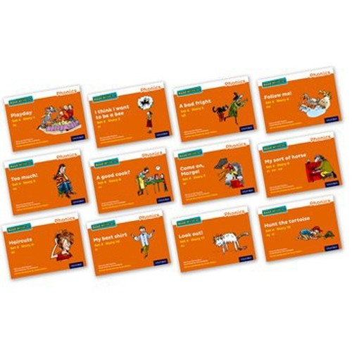 Pack Of 12 Stage 4 Storybooks