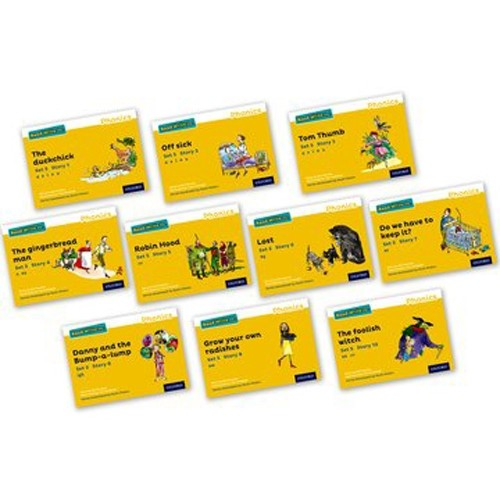Pack Of 10 Stage 5 Storybooks