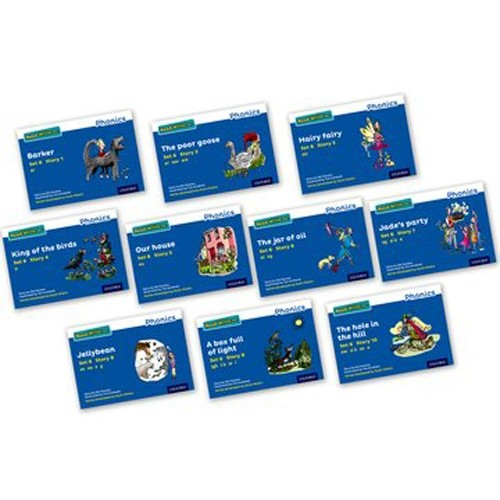 Pack Of 10 Stage 6 Storybooks