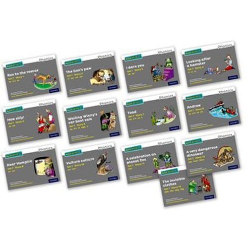 Pack Of 13 Stage 7 Storybooks