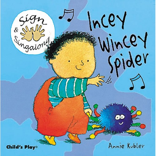 Book: Incey Wincey Spider by Annie Kubler
