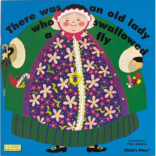 Book: Old Lady Who Swallowed a Fly by Pam Adams