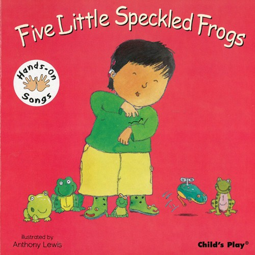 Book: Five Little Speckled Frogs by Anthony Lewis