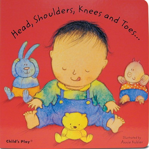 Book: Head, Shoulders, Knees and Toes... by Annie Kubler