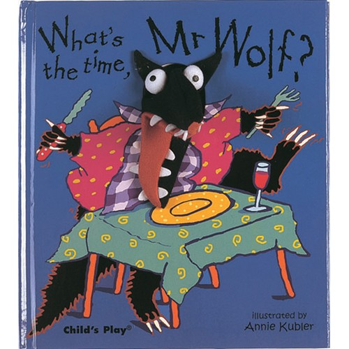 Book: What's the Time Mr Wolf by Annie Kubler