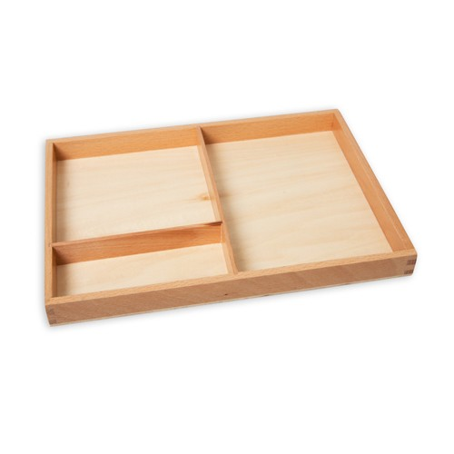Montessori Cards Display Tray