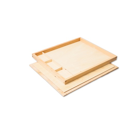 Montessori Divided Display Tray with Lid