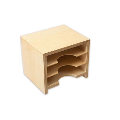 Montessori Leaf Card Cabinet