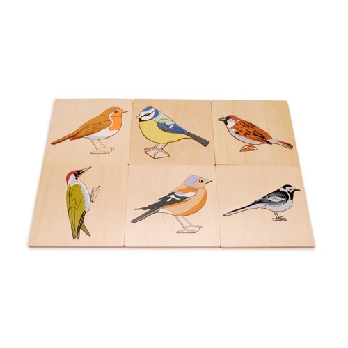 Montessori British Birds Puzzles