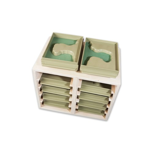 Montessori Land and Water Forms Trays