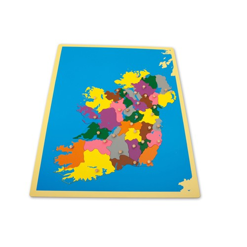Montessori Ireland Puzzle Map