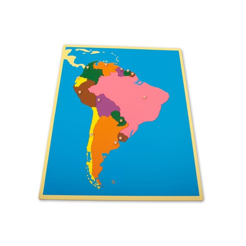 Montessori Outlet South America Puzzle Map