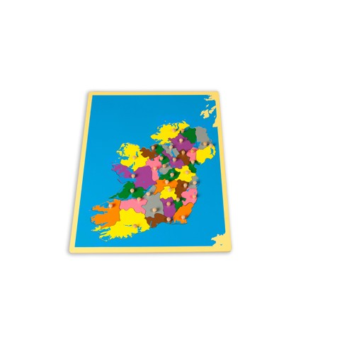 Montessori Small Ireland Board Puzzle Map