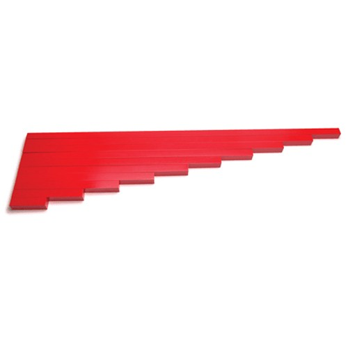 Montessori Economy Long Red Rods